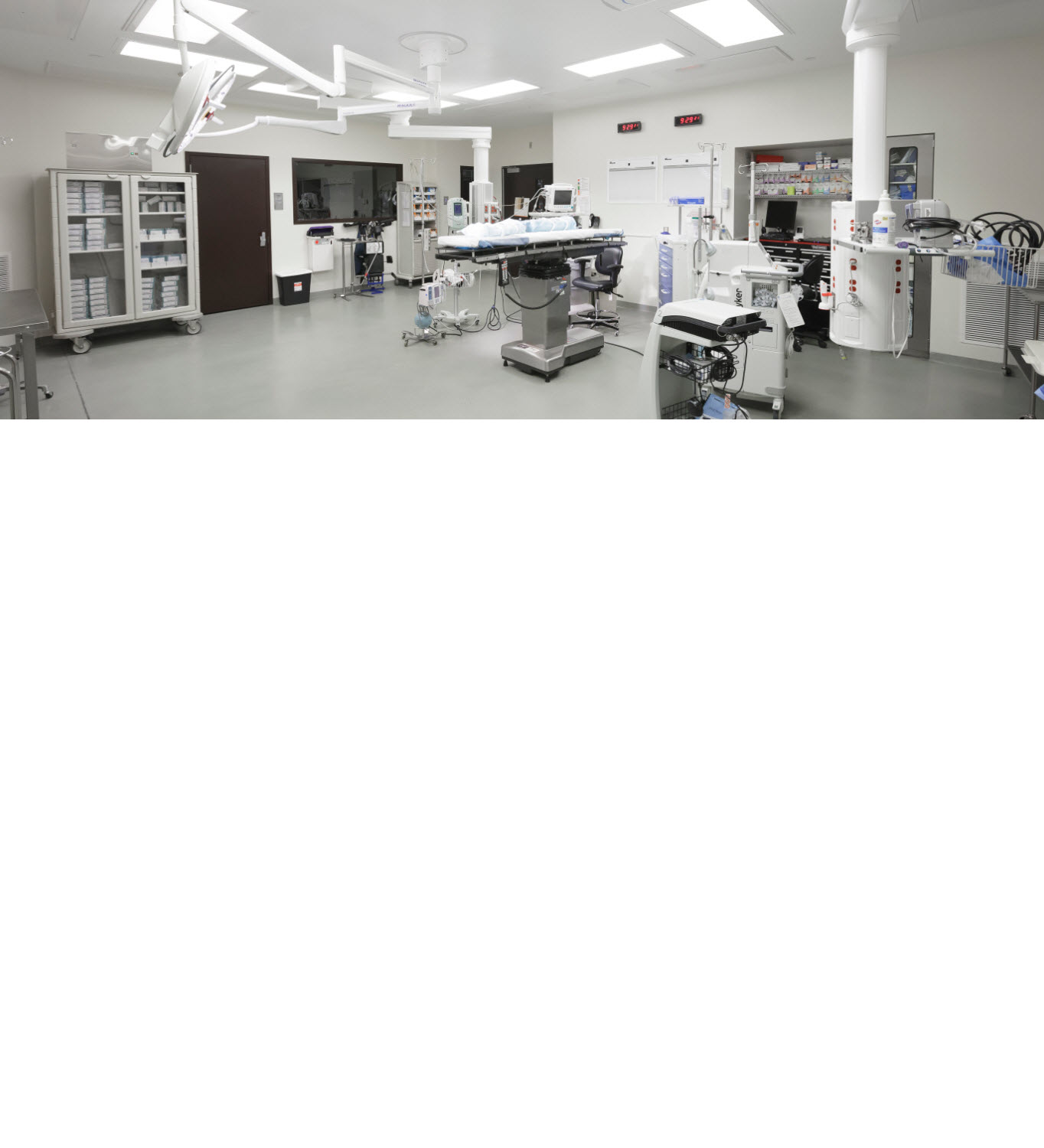 Award Winning Operating Rooms