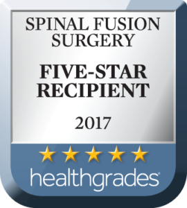 Five-Star Recipient Hospital for Spinal Fusion Surgery