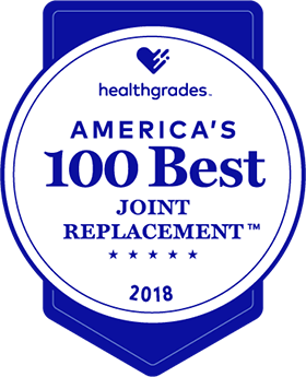 America's 100 Best Joint Replacement Award