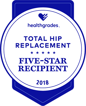Five Star Hip Replacement Award
