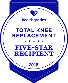 Five Star Knee Replacement Award