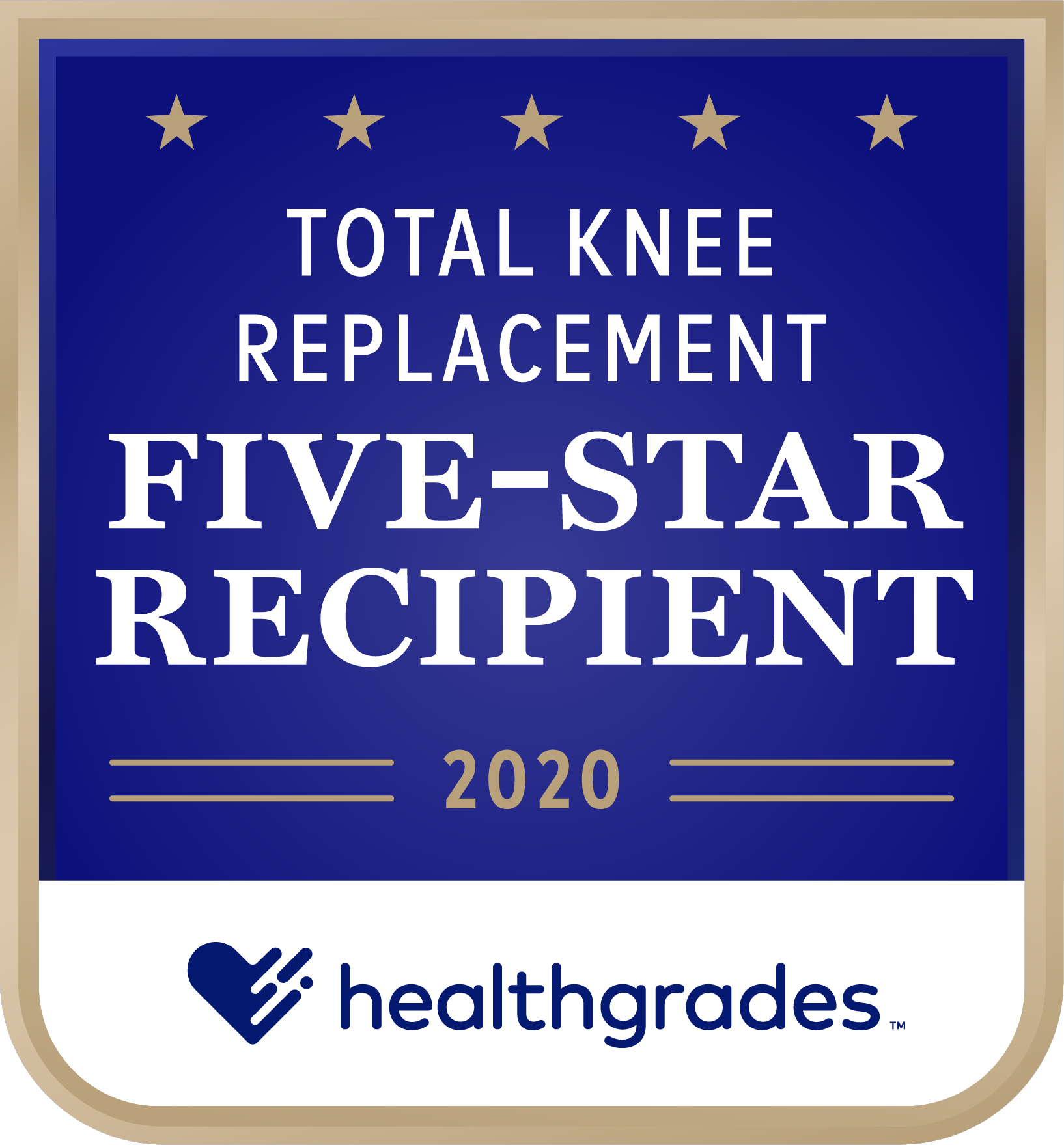 Five Star Total Knee Award 2020