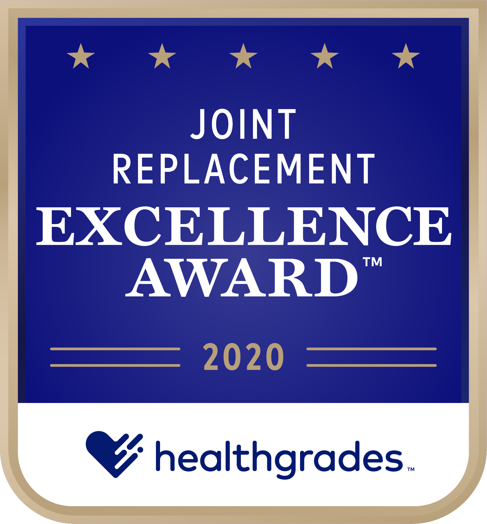 Joint Replacement Award 2020