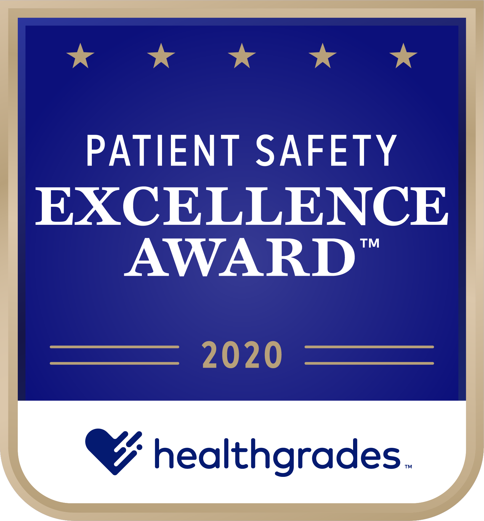 Patient Safety Award 2020