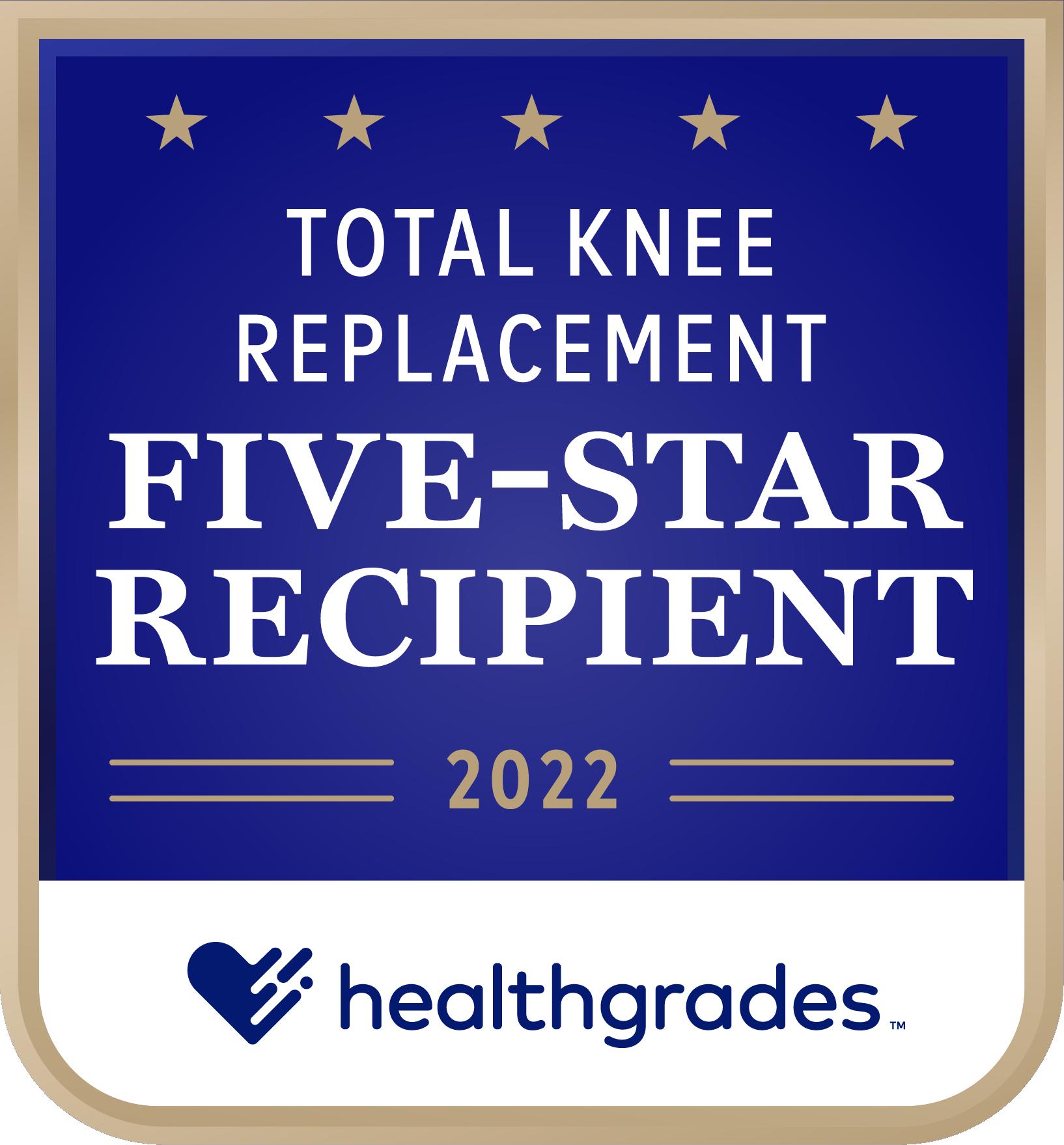 Five Star Total Knee Award 2020